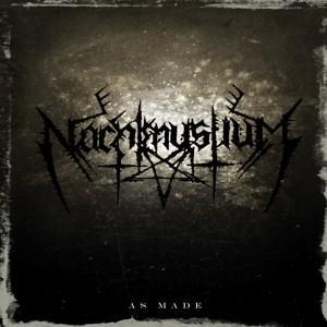 "NACHTMYSTIUM - AS MADE (BLACK VINYL) 7"" (NEW)"