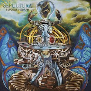 SEPULTURA - MACHINE MESSIAH (BLACK VINYL, GATEFOLD) 2LP (NEW)