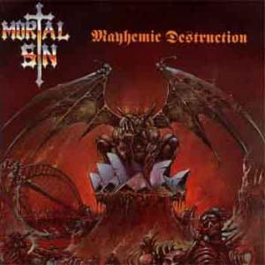 MORTAL SIN - MAYHEMIC DESTRUCTION (JAPAN EDITION +OBI) LP