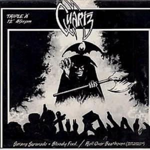 """QUARTZ - SATAN'S SERENADE (LTD EDITION 500 COPIES REPLICA 7"""" SINGLE MINIATURE VINYL COVER) CD'S (NEW)"""