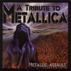 METALLICA - TRIBUTE - METALLIC ASSAULT (MEGADETH. KISS. ANTHRAX, WASP, MOTORHEAD...) CD