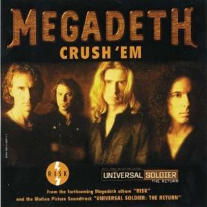 MEGADETH - CRUSH 'EM (PROMO) CD'S