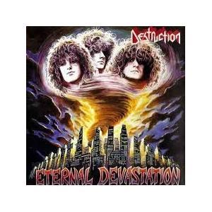 DESTRUCTION - ETERNAL DEVASTATION (INCL. AUTOGRAPHED PAPER FRAME BY SCHMIER) LP