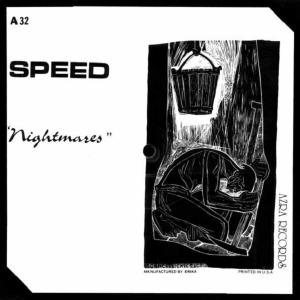 """SPEED - NIGHTMARES (LTD EDITION SQUARE SHAPED PICTURE DISC, AZRA RECORDS, AUTOGRAPHED) 7"""""""