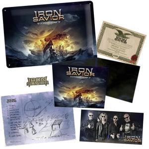IRON SAVIOR - TITANCRAFT (LTD EDITION 500 COPIES BOX SET) CD BOX SET (NEW)