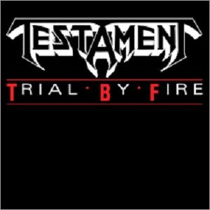 """TESTAMENT - TRIAL BY FIRE (3 TRACKS) 12"""" LP"""