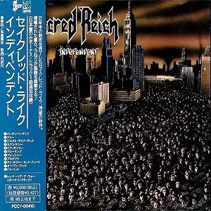 SACRED REICH - INDEPENDENT (JAPAN EDITION +OBI, INCL. BONUS TRACK) CD