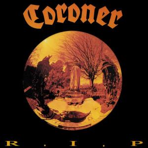 CORONER - R.I.P. (2018 REISSUE, REMASTERED 180GR BLACK VINYL INCL. INSERT) LP (NEW)