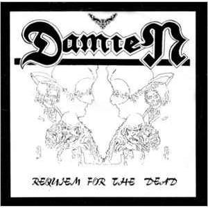 "DAMIEN - REQUIEM FOR THE DEAD 12"" LP"