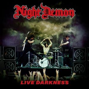 NIGHT DEMON - LIVE DARKNESS (RED VINYL, GATEFOLD INCL. 2CD) 3LP/2CD (NEW)