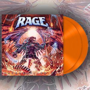 RAGE - Resurrection Day (Orange, Gatefold) 2LP