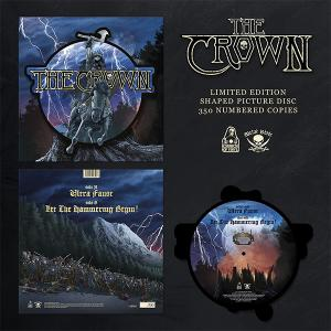 """THE CROWN - Ultra Faust (Ltd 350 / Hand-Numbered, Shaped Picture Disc) 12"""""""