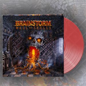 BRAINSTORM - Wall Of Skulls (Ltd 600 / Clear Red, Gatefold) LP