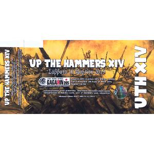 UP THE HAMMERS FESTIVAL XIV - TICKET FOR SATURDAY 16 MARCH 2019