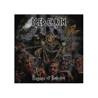 "ICED EARTH - PLAGUES OF BABYLON (LTD EDITION BLACK 10"" BOX SET) 3LP (NEW)"