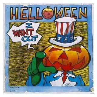 "HELLOWEEN - I WANT OUT 12"" LP"