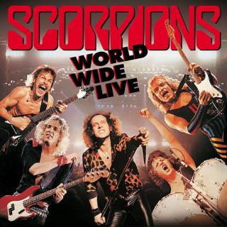SCORPIONS - WORLD WIDE LIVE - 50TH ANNIVERSARY DELUXE EDITION (GATEFOLD, +BONUS CD, +TOUR POSTER) 2LP (NEW)