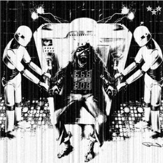 V/A - 666 VERSUS 808, AN ELECTRO TRIBUTE TO IRON MAIDEN LP
