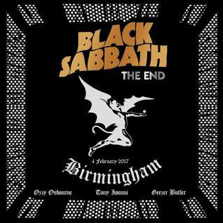 BLACK SABBATH - THE END - 4 FEBRUARY 2017 BIRMINGHAM - THE FINAL SHOW 2CD (NEW)
