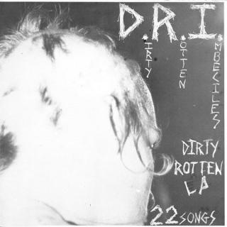 D.R.I. - DIRTY ROTTEN LP - 22 SONGS (SEALED COPY) CD (NEW)