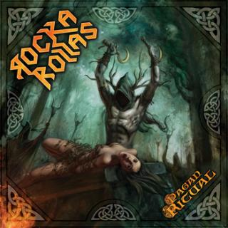 ROCKA ROLLAS - PAGAN RITUAL (LTD EDITION HAND NUMBERED 100 COPIES GREEN VINYL) LP (NEW)