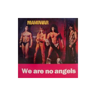 MANOWAR - WE ARE NO ANGELS (HAMMERSMITH ODEON '85) LP