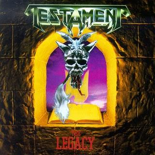 TESTAMENT - THE LEGACY (FIRST EDITION) LP