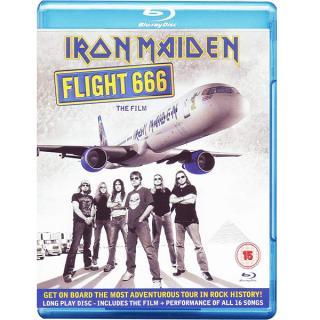 IRON MAIDEN - FLIGHT 666 - THE FILM BLU-RAY