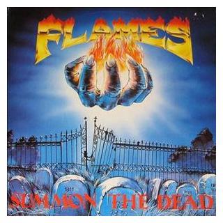FLAMES - SUMMON THE DEAD (LTD EDITION 250 COPIES BLACK VINYL, GATEFOLD) LP (NEW)