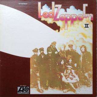 LED ZEPPELIN - II (U.S.A EDITION,GATEFOLD) LP