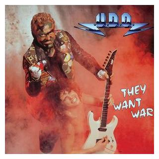 "UDO - THEY WANT WAR 12"" LP"