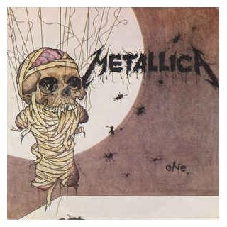 """METALLICA - ONE (FIRST UK VERSION, WITHOUT POSTER) 7"""""""