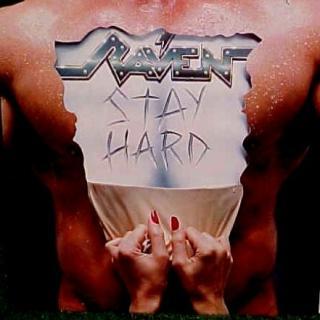 RAVEN - STAY HARD (JAPAN EDITION +OBI) LP