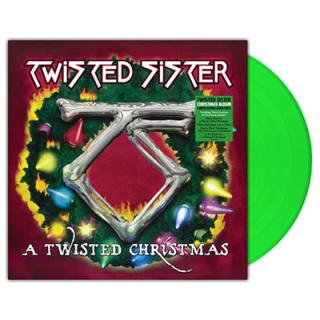 TWISTED SISTER - A TWISTED CHRISTMAS (RECORD STORE DAY LTD EDITION GREEN VINYL) LP (NEW)