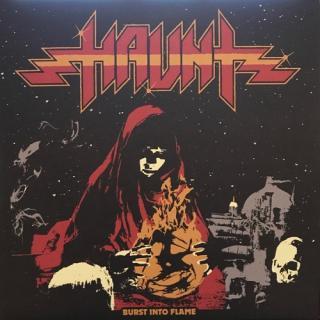 HAUNT - BURST INTO FLAME (LTD EDITION 1500 COPIES ORANGE/RED SPLATTER VINYL) LP (NEW)