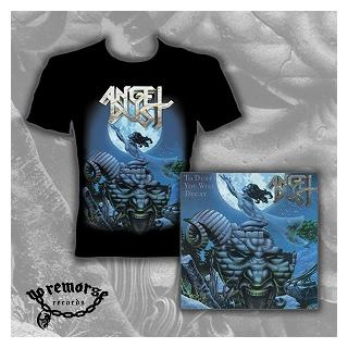 ANGEL DUST - TO DUST YOU WILL DECAY (SET INCL.: CD REISSUE +5 BONUS TRACKS & T-SHIRT) CD/T-SHIRT SIZE: S (NEW)