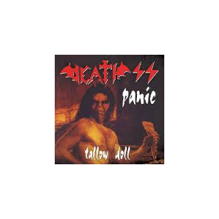 """DEATH SS - PANIC/TALLOW DOLL (LTD EDITION 200 COPIES NUMBERED) 7"""" (NEW)"""