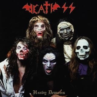 DEATH SS - HEAVY DEMONS (DIGIPACK, GOLD DISC) CD (NEW)