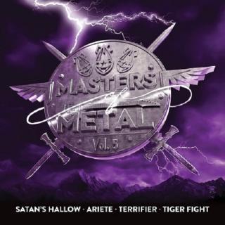 V/A - MASTERS OF METAL VOLUME 5 (SATAN'S HALLOW, ARIETE, TERRIFIER, TIGER FIGHT) CD (NEW)