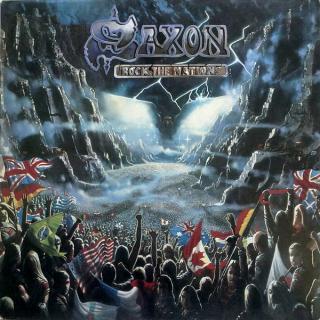 SAXON - ROCK THE NATIONS (GREEK EDITION) LP