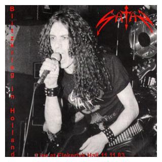 SATAN - BLITZKRIEG IN HOLLAND - LIVE '83 (LTD NUMBERED EDITION 100 COPIES RED VINYL) 2LP