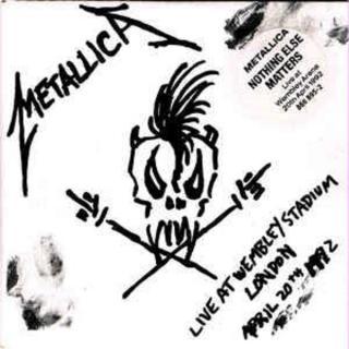 METALLICA - NOTHING ELSE MATTERS - LIVE AT WEMBLEY STADIUM, LONDON APRIL 20TH 1992 CD'S