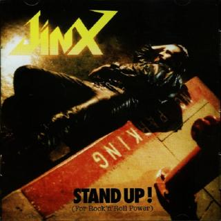 JINX - STAND UP! (FOR ROCK 'N' ROLL POWER) (LTD EDITION 500 COPIES) CD (NEW)