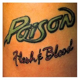 POISON - FLESH & BLOOD (JAPAN EDITION+OBI) CD