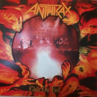 ANTHRAX - CHILE ON HELL (LTD HAND-NUMBERED EDITION 700 COPIES RED/WHITE VINYL, GATEFOLD IN DIE-CUT SLIPCASE COVER) 2LP (NEW)