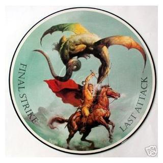METALLICA - FINAL STRIKE LAST ATTACK (LIVE IN MIAMI '88, PIC. DISC) LP