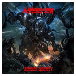 ANNIHILATOR - SUICIDE SOCIETY (+DELUXE CONTENT DOWNLOAD CARD) LP (NEW)