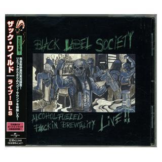 BLACK LABEL SOCIETY - ALCOHOL FUELED BREWTALITY LIVE (JAPAN EDITION + OBI) CD
