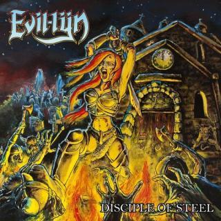 EVIL-LYN - DISCIPLE OF STEEL (LTD EDITION 100 COPIES RED VINYL) LP (NEW)
