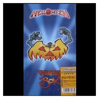 HELLOWEEN - PUMPKIN BOX (JAPAN EDITION +OBI, BOX SET INCL. 4CD, BOOK, STICKER) 4CD